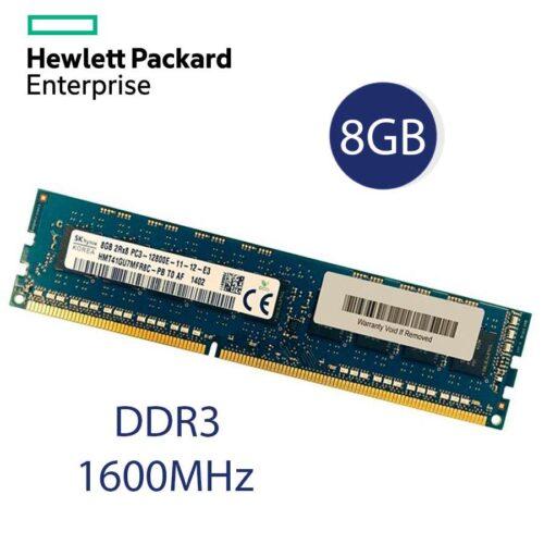 New 8GB DDR3 ECC Unbuffered RAM UDIMM PC3-12800E 1600MHz Memory RAM