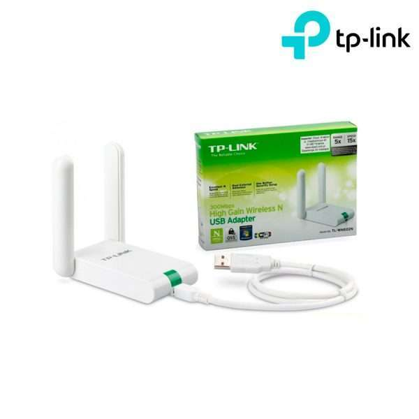 Adaptador-Usb-Wireless-N-Tp-link-Tl-wn822n-300mbps-2-Antenas