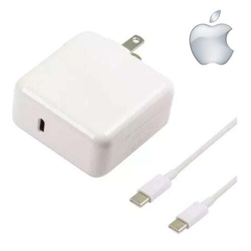 718143cac1c CARGADOR ADAPTADOR DE ENERGÍA MAC APPLE PARA IPHONE Y MACBOOK USB ...