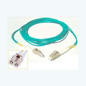 Patch Cord De Fibra Optica Mm Lc/lc Upc Om3 50/125um Dx 3mt