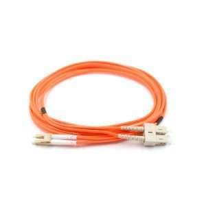 Patch Cord De Fibra Optica Mm Lc-upc A Sc-upc 9/125um Dx 2m