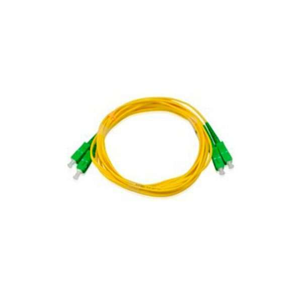 Patch Cord De Fibra Optica Sm Sc-apc A Sc-apc Gpon Dx 1mt.