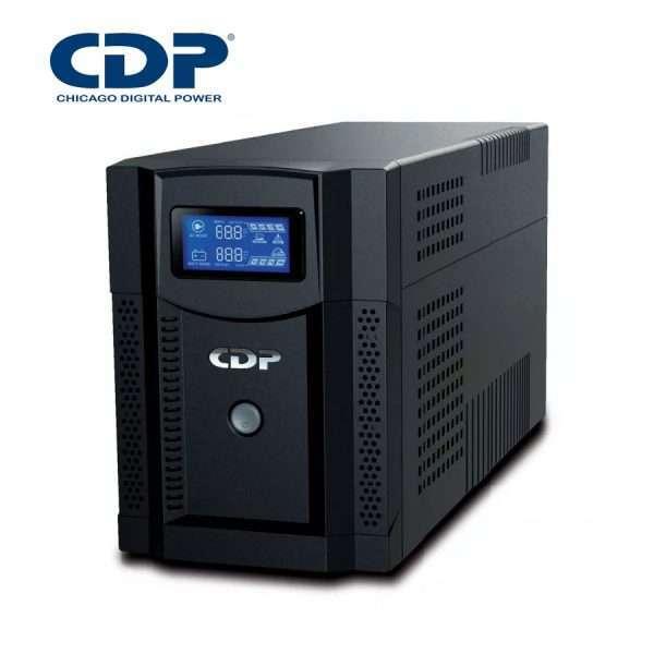 Ups Cdp Upr-s1508 Con Regulador 1.5kva 1050w 8 Tomas Con Lcd