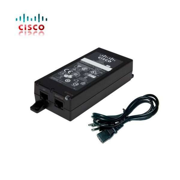 Inyector Poe Cisco Gigabit Air-pwrinj5 15.4w 56vdc 802.3af