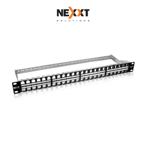 Patch Panel Modular Nexxt Cat6 De 48 Puertos Blindado Rack