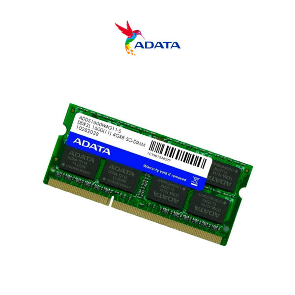 Memoria Ram Adata Ddr3 4gb Pc3l-12800 1600 Mhz Sodimm Laptop