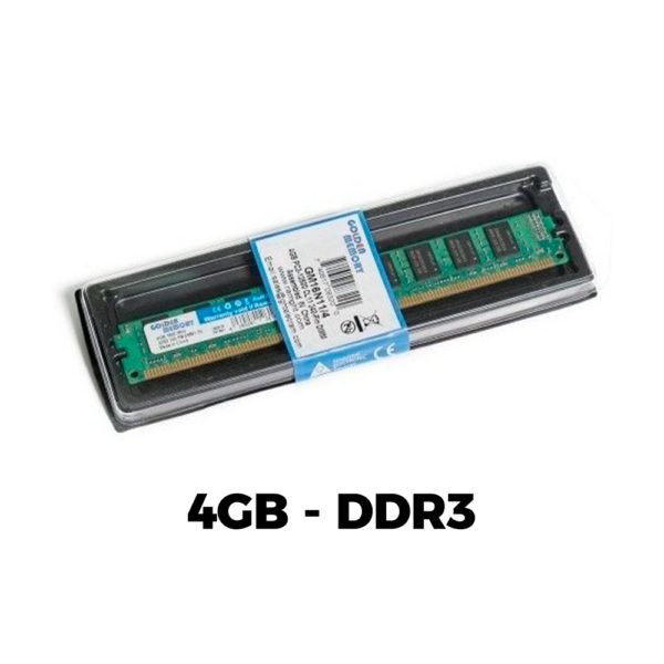 Memoria Ram Golden Ddr3 4gb Pc3-12800 1600 Mhz Pc Escritorio